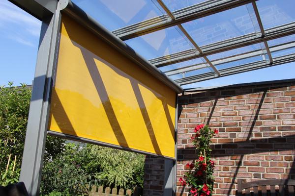Sonnenschutz und Sichtschutz von Knoppe Wintergärten aus Berlin