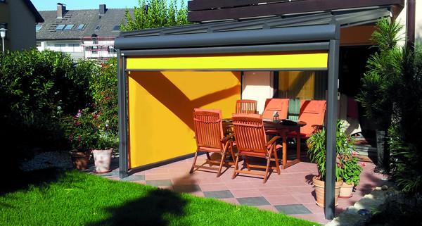 sonnenschutz die qual der wahl knoppe wintergarten. Black Bedroom Furniture Sets. Home Design Ideas
